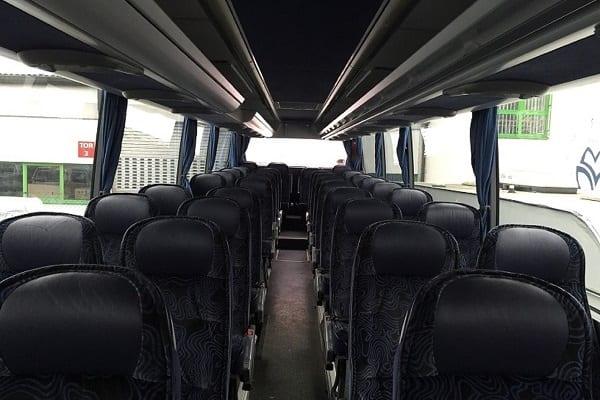 Mercedes bus interior Latvia