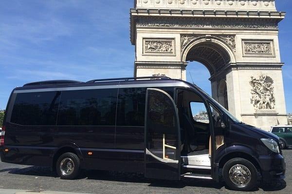 прокат минибус аренда Брюссель